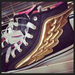 wings sneakers awesome funny