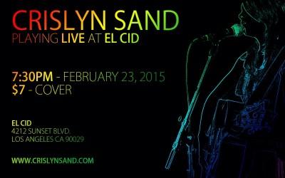 Crislyn Live @ El Cid 2/23