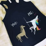 love magic unicorn happiness joy fun tank