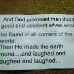 god promise an obidience in marriage
