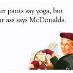 Running to McDonald in yoga pants haha mom butt yogahellip