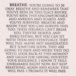 Just keep breathing it will pass love quotes for inspiration