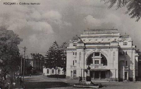 Teatrul Maior Gheorghe Pastia Focsani