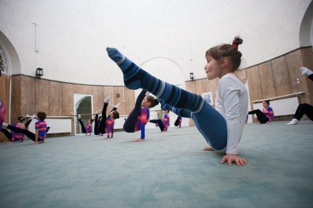 antrenament junioare gimnastica 13