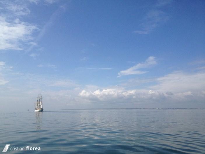 aventura pe o nava cu panze - constanta varna 30