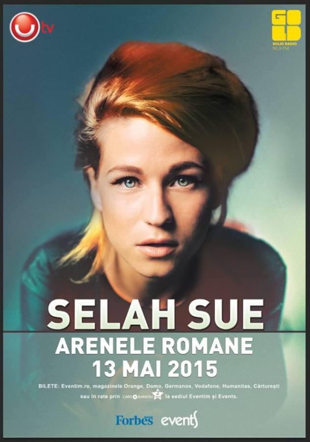 selah sue - concert romania arenele romane