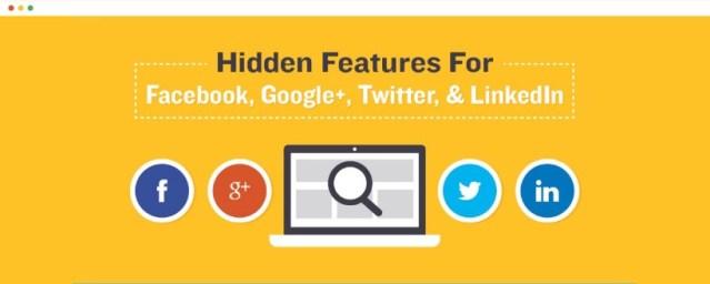 tips and tricks pentru facebook twitter google plus linkedin