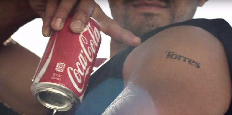 tatuaj coca-cola