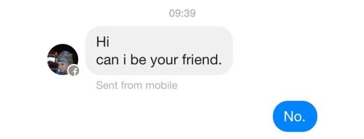 facebook - friend