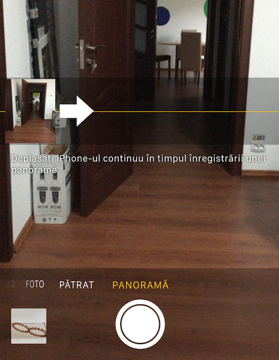 schimbare directie panorama iPhone 1