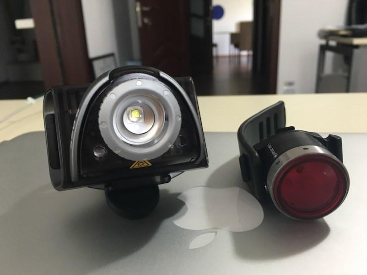 lumina pentru biciclete ledlenser 2