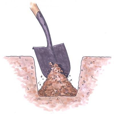 Sigue cavando
