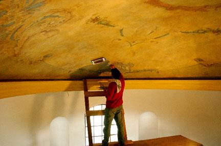 El pintor y la brocha