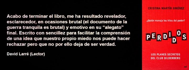 Cristina Martin Jimenez Perdidos opiniones Club Bilderberg
