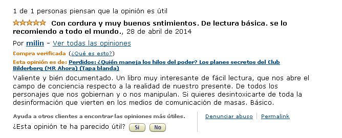 Opiniones Perdidos Cristina Martín Jiménez en amazon - Milin