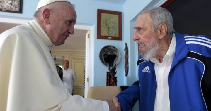 papa francisco en cuba