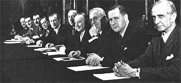 Reunion del Comité Ejecutivo del Movimiento Europeista