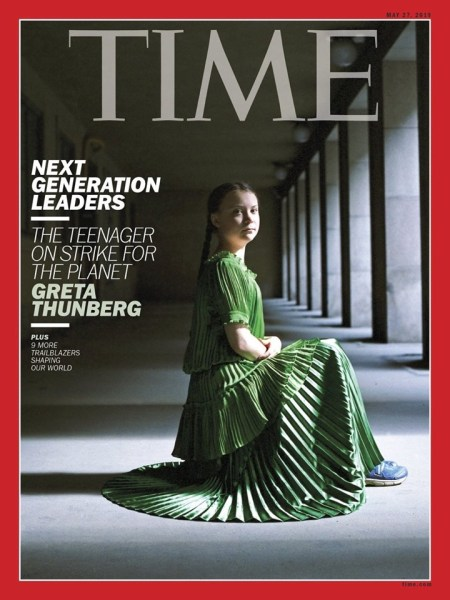 Greta Thunberg Nobel Revista Time