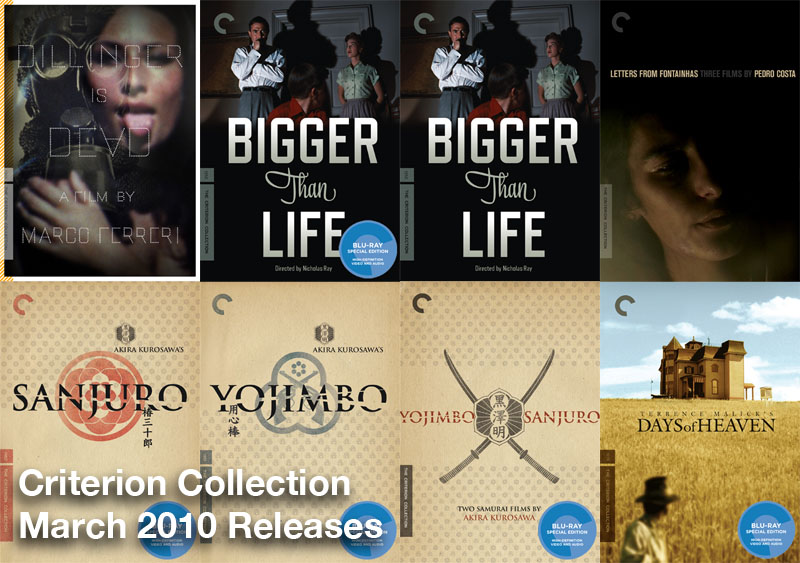 March 2010 Criterion Releases Smaller