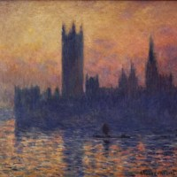 Monet, Houses of Parliament, Sunset 1903