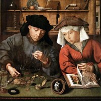 Matsijs, Quentin, The Moneylender and his Wife