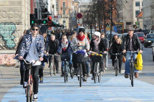 Radfahren in Kopenhagen