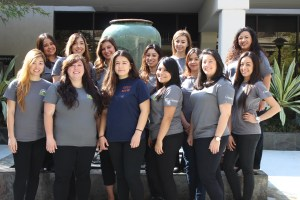 2015 CSUF Social Work Graduate Students interning at Crittenton Services.