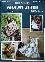 teach yourself afghan stitch book