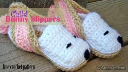 Free Crochet Pattern For Bunny Slippers : Crochet Bunny Love ? Crochet