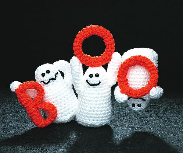 Boo Ghosts - Talking Crochet