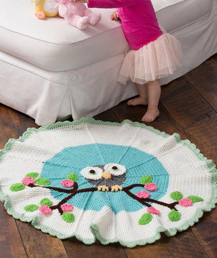 Crochet Owl Rug Pattern: Handmade Christmas Gifts