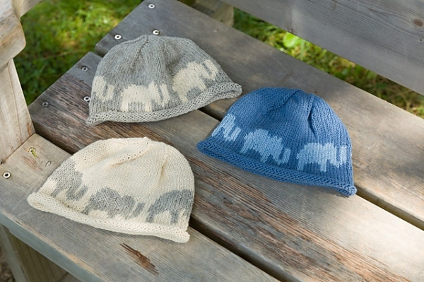 Easy Elephant Knitting Pattern : Free Pattern   Elephant Beanie   Crochet