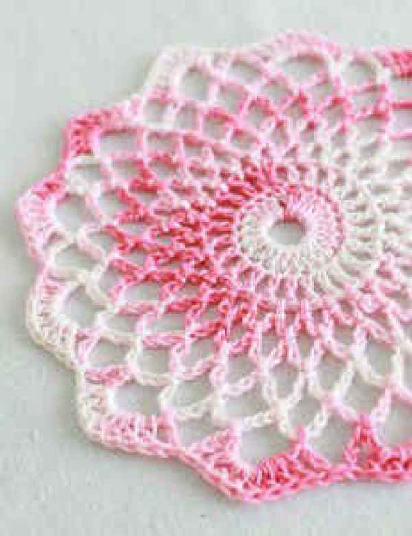 Crochet Pattern Template : Beautiful Crochet Doily Patterns - Crochet