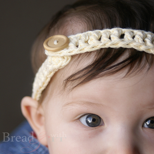 Crocheting A Headband : This adorable slim line headband is adorable. The slime line look ...