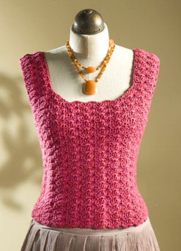 Free Crochet Patterns For Women s Shell Tops : 7 Beautiful Tops To Crochet For Summer ? Crochet