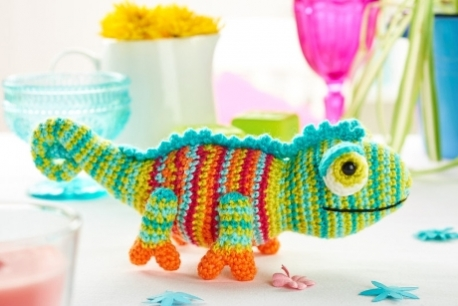 Crochet Chameleons : ... Chameleon is totally adorable and the perfect little toy. Free Pattern