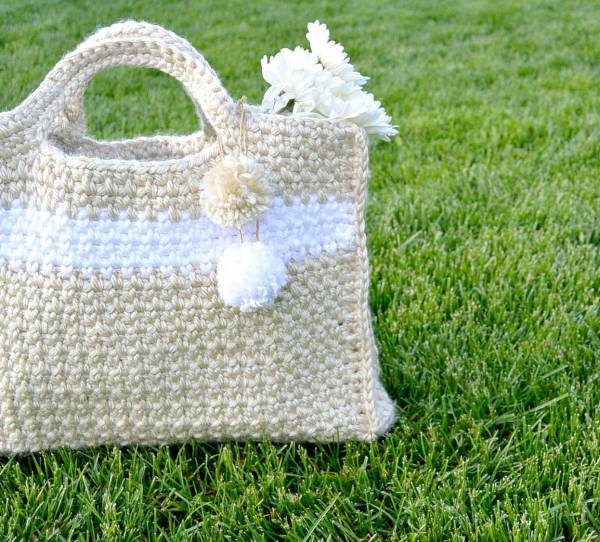 crochet bag was created using this free crochet bag pattern this bag ...