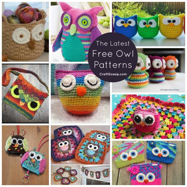 Crochet Patterns For Kids Bags : free-owl-crochet-patterns-bag-purse-toy-blanket-kids-easy-latest-new