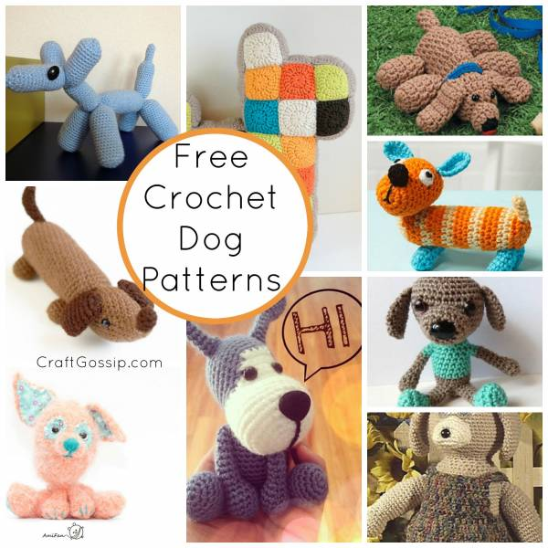 Crochet Patterns Pets : Crochet Dog Patterns Crochet CraftGossip Bloglovin?