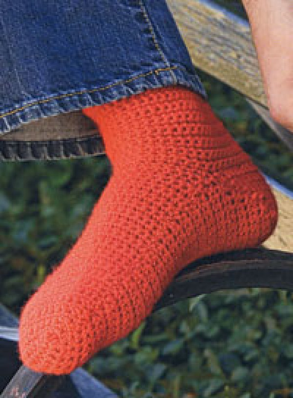 Free And Easy Crochet Patterns For Socks : You Asked For It: 8 Crochet Sock Patterns ? Crochet