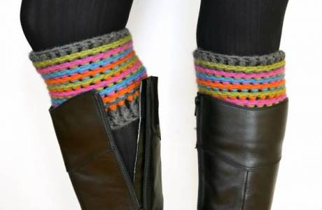 Free Pattern – Celebration Boot Cuffs