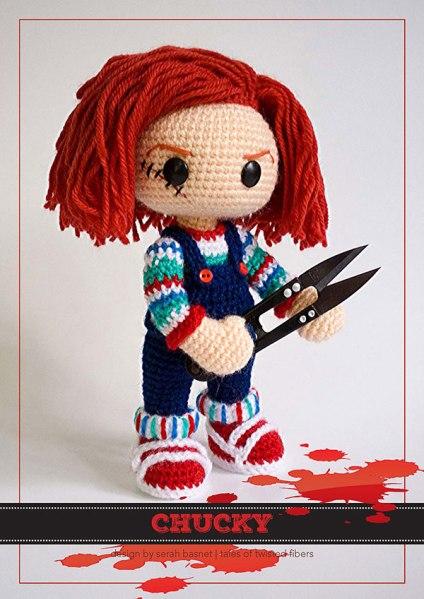 Chucky - free amigurumi pattern by Tales of Twisted Fibers