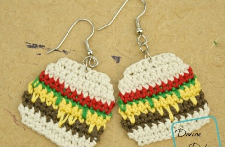 Hamburger Earrings Anyone?