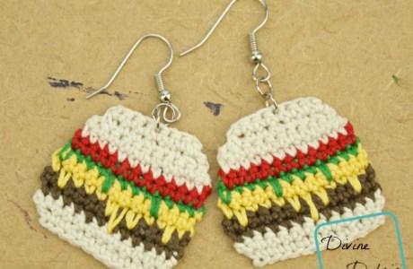 Hamburger Earrings Anyone?