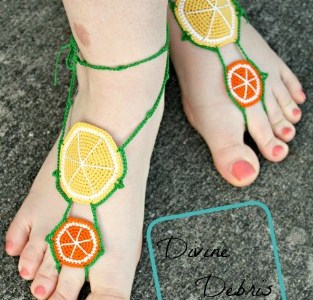 Barefoot Sandals For Your Lemonade Stand