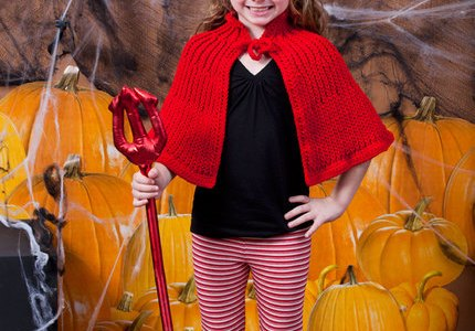 Little Devil Crochet Costume