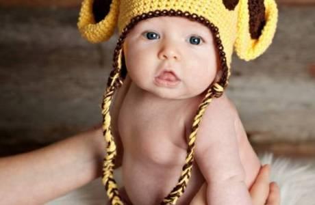Free pattern – Giraffe Hat
