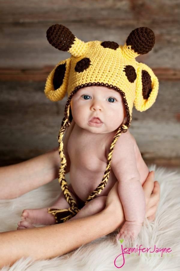 Free Crochet Pattern Giraffe Hat : Crafts, Patterns, DIY and Handmade Ideas from CraftGossip