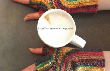 Free Pattern U-Turn Mitts