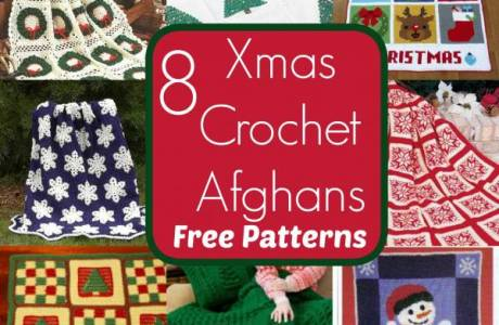 8 Free Christmas Afghan Blanket Patterns
